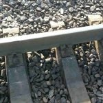 В Кривом Роге из-за «черных металлистов» чуть не сошли с рельсов вагоны поезда