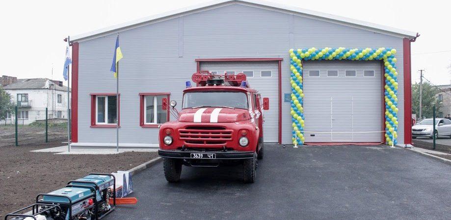 центр безпеки громадня, Дніпропетровщина, пожежна служба
