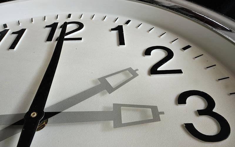перевод часов Украина, зимовий час Україна
