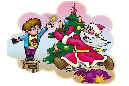 новый год, елка, техника безопасности
