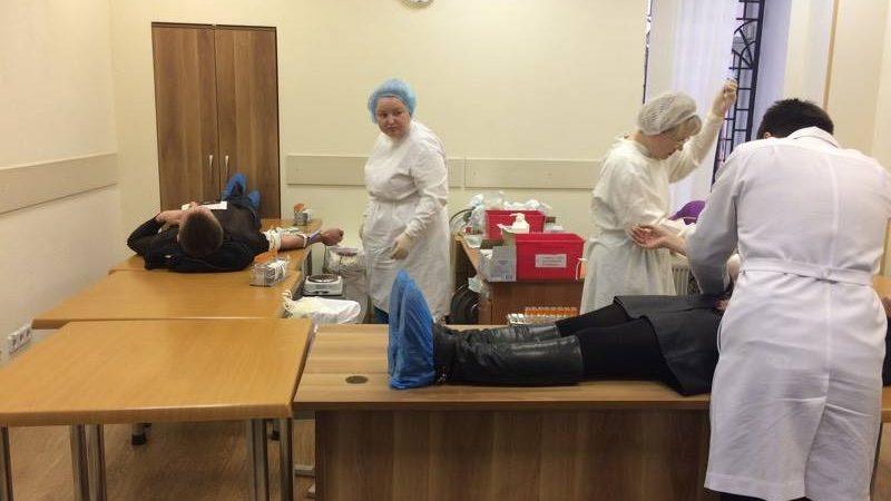 здача крові, донор, Дніпро