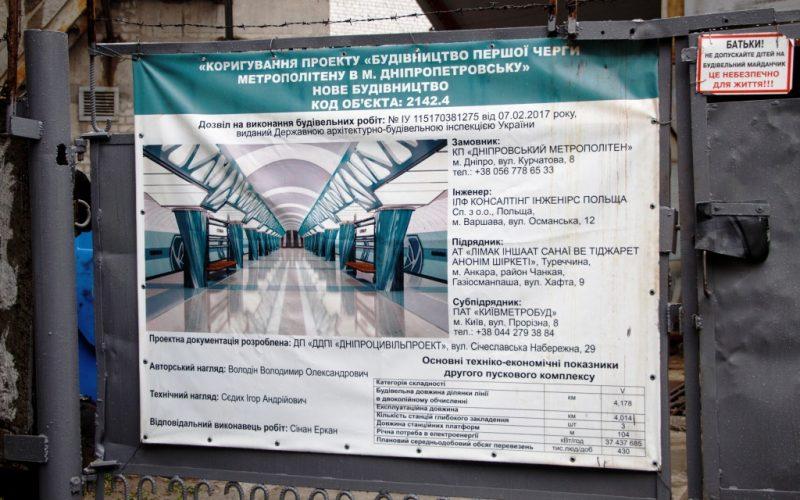метро Дніпро