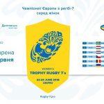 Дніпро прийме чемпіонат Європи з регбі-7 серед жінок