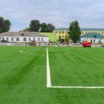 У Юр'ївці будують сучасний стадіон