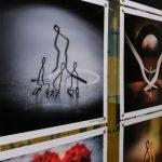 У Дніпрі відкрилась благодійна виставка «Люди-скріпки»