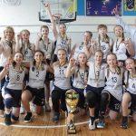 Дніпровські спортсменки – чемпіонки Всеукраїнскої юнацької баскетбольної ліги