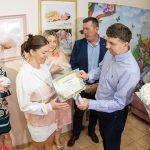 Батьки малят, народжених у День міста, отримали грошові подарунки