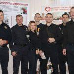 Патрульні Дніпра здали кров для постраждалих у ДТП