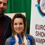 Криворожанка здобула п'ять медалей на чемпіонаті Європи з кульової стрільби