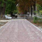У Софіївці завершують капітальний ремонт центрального бульвару