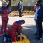 Школярів Дніпропетровщини навчають надавати екстрену медичну допомогу
