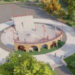 У Дніпрі презентували проєкт скейтпарку у сквері ім. Олександра Усачова